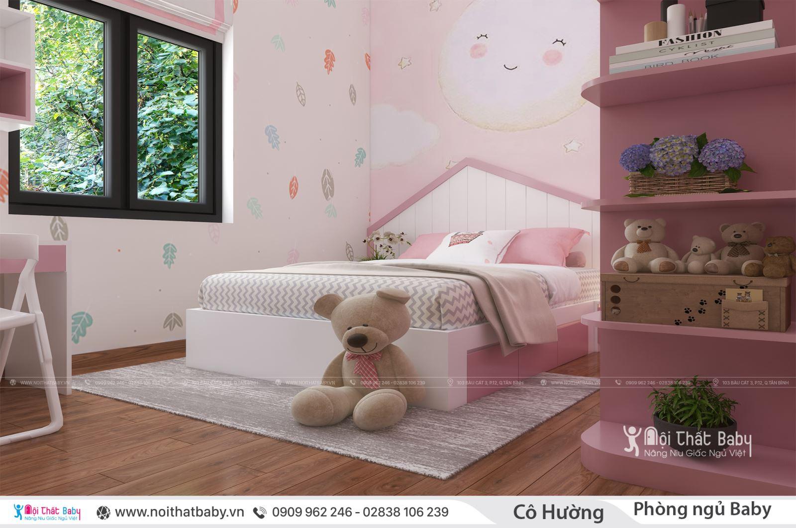 Những mẫu giường ngủ hình ngôi nhà cho baby của bạn