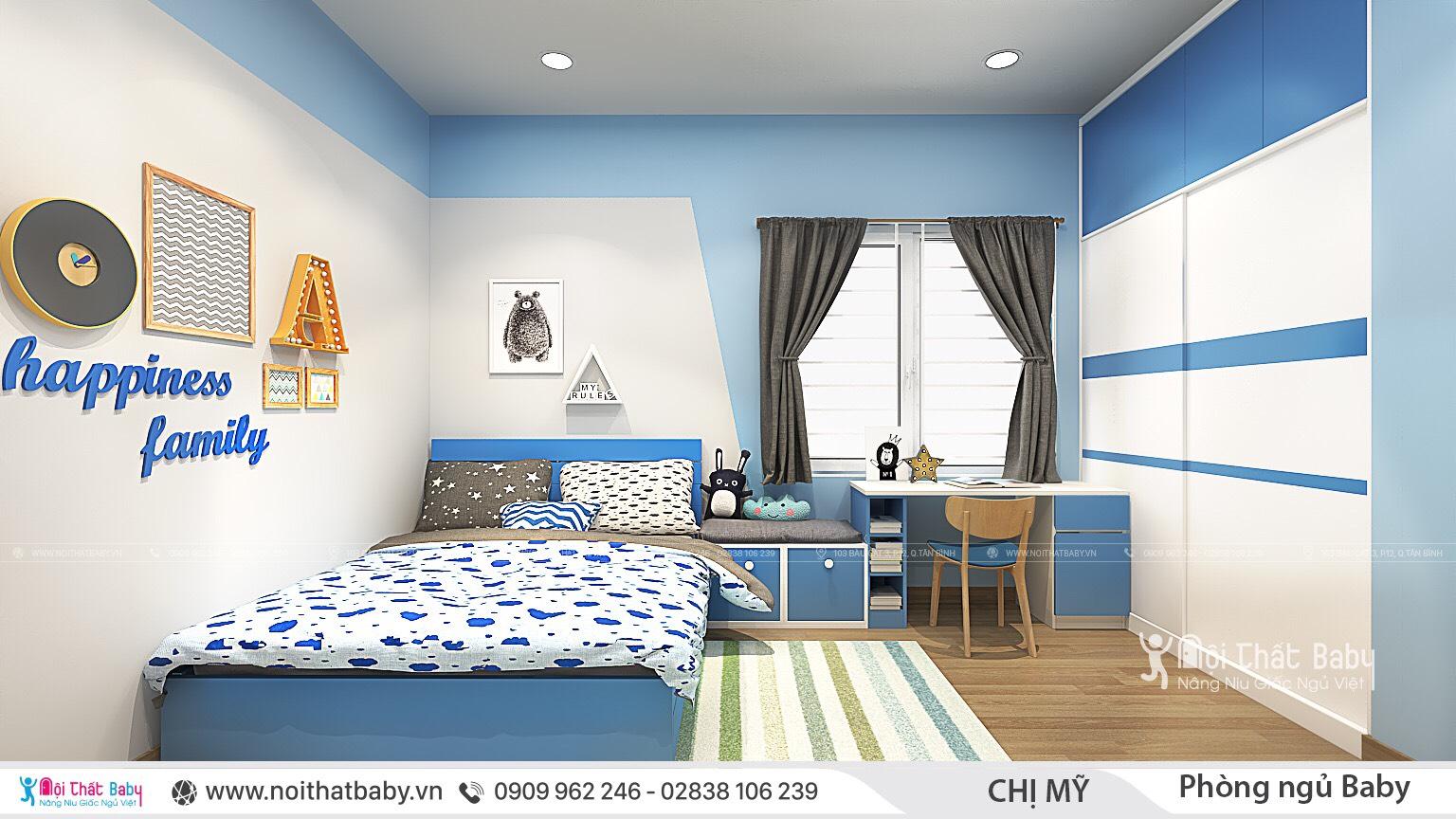 Tổng hợp những mẫu phòng ngủ cho bé trai