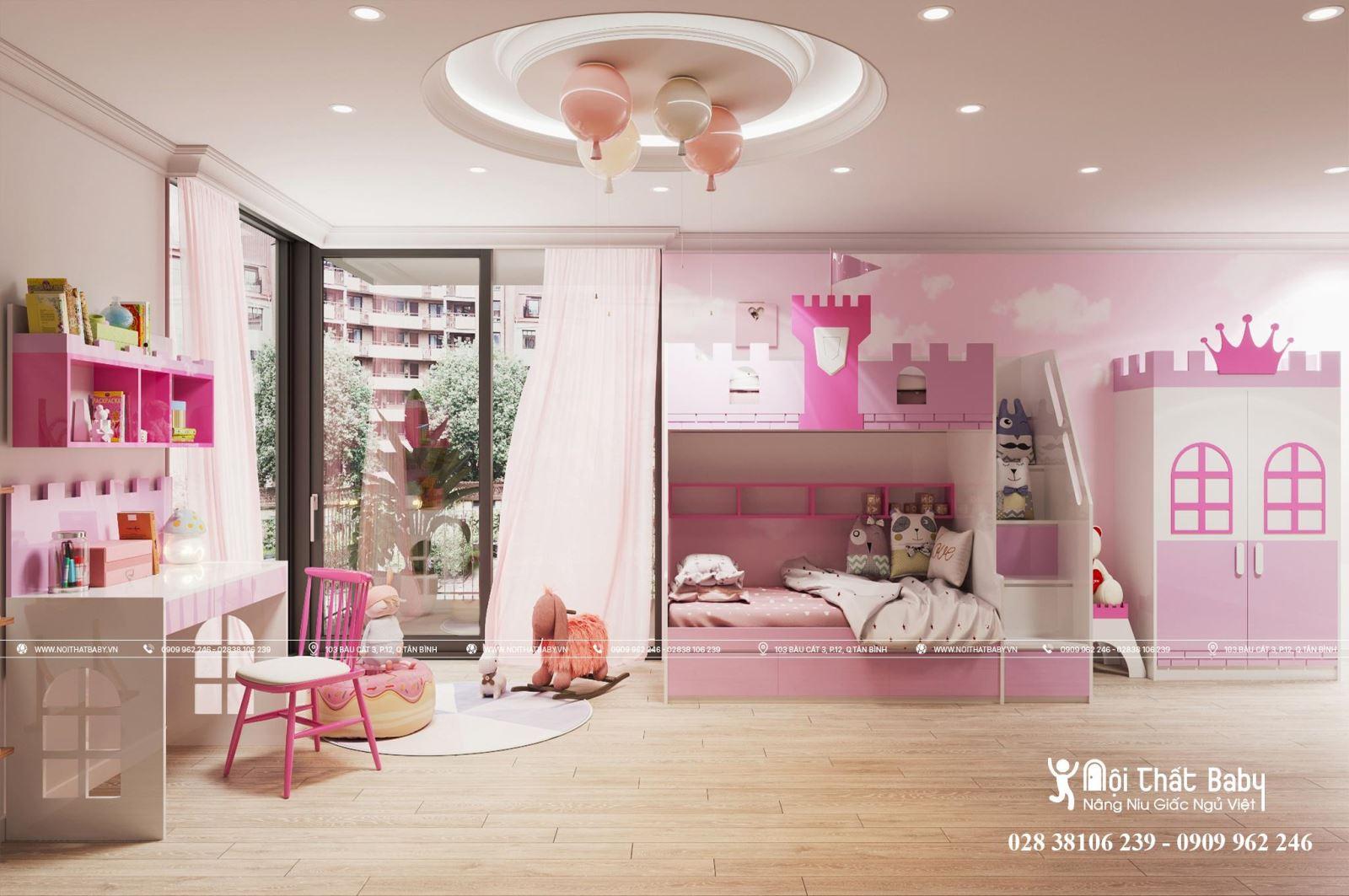 Top mẫu giường tầng trẻ em bán chạy nhất năm 2020