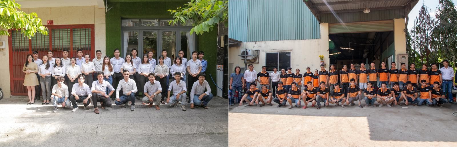 Đội ngũ nhân viên Nhà Bếp Xinh