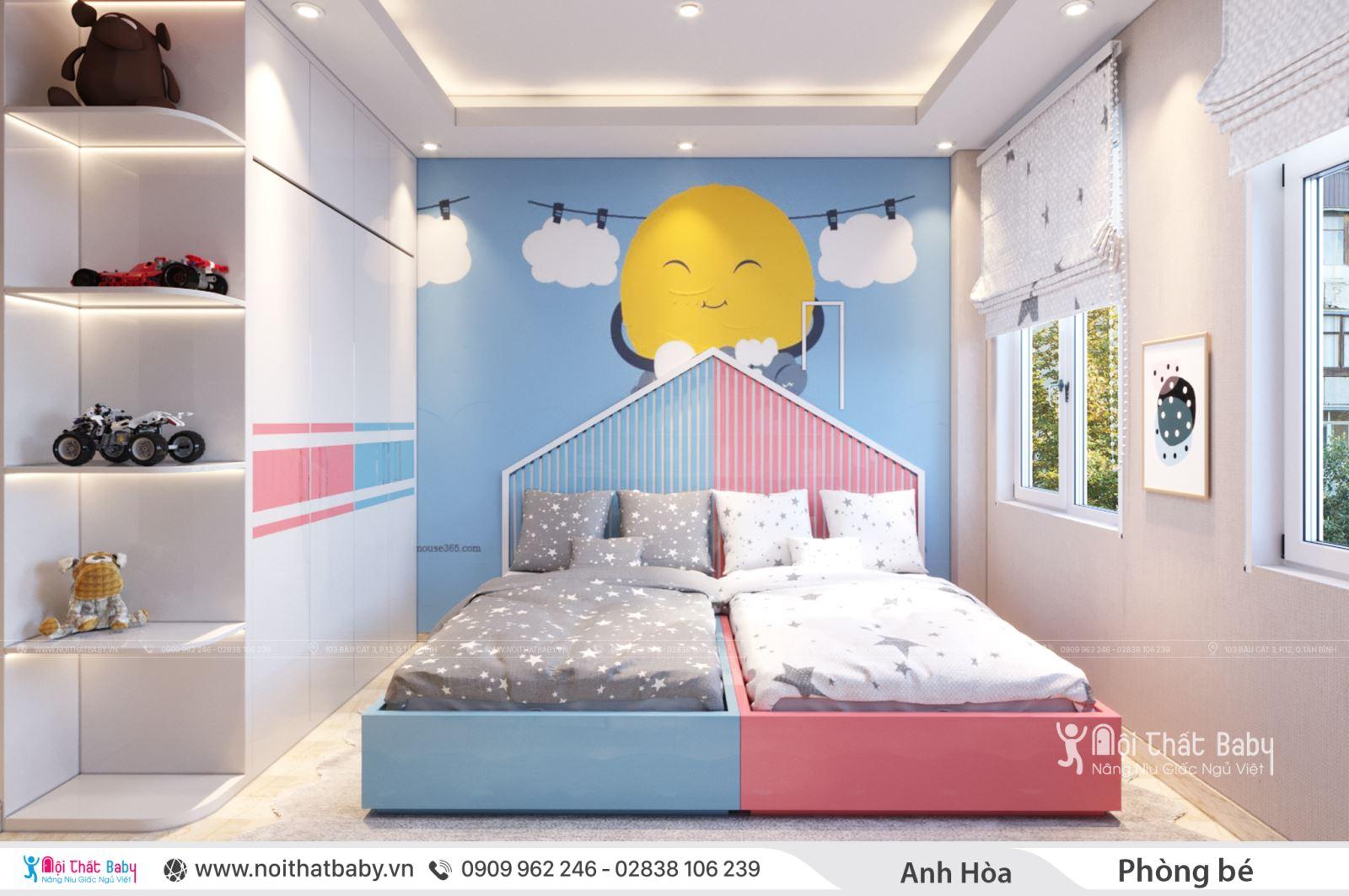 Tổng hợp những mẫu giường ngủ cho trẻ em mới nhất