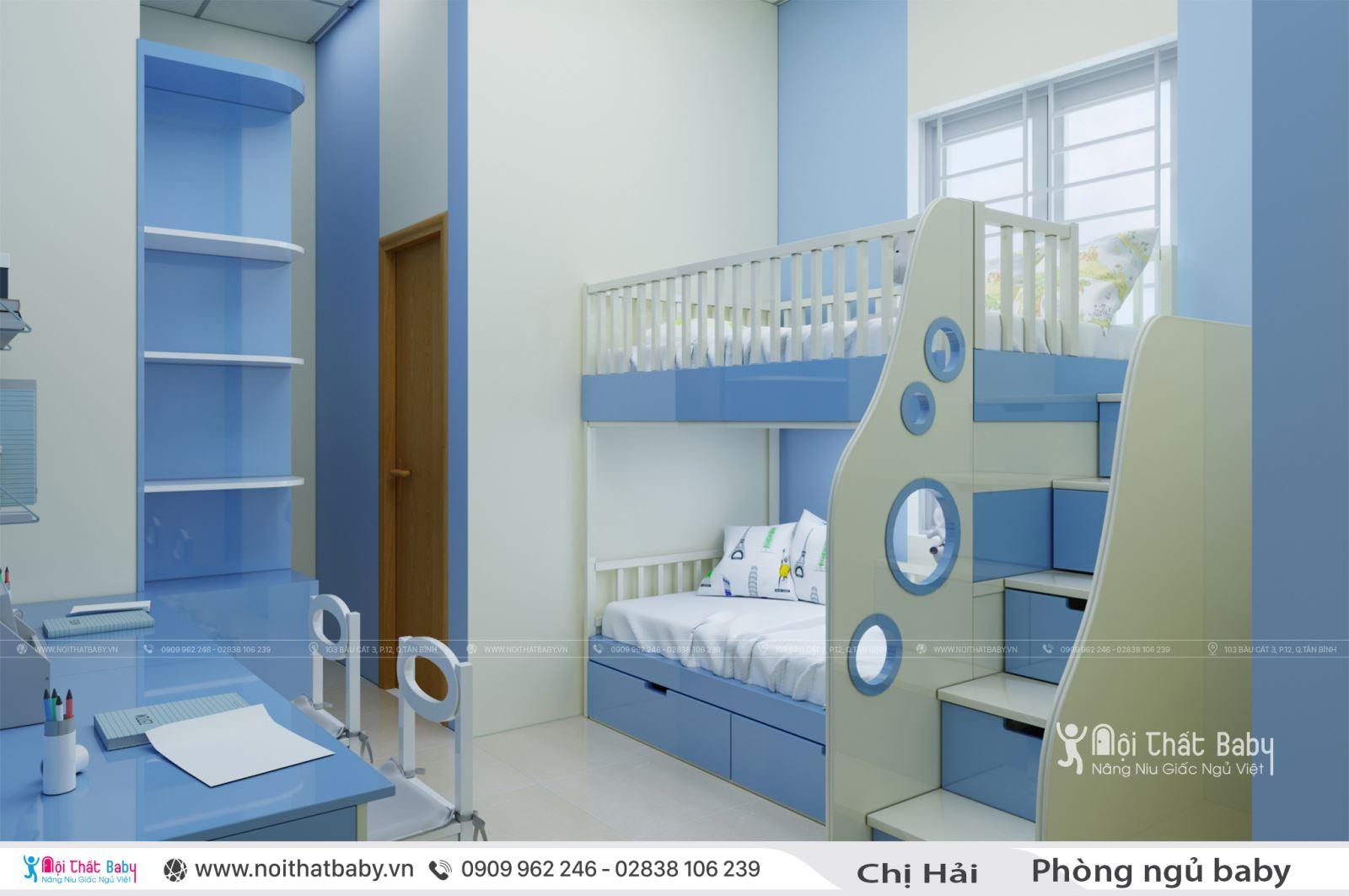 Nội thất phòng ngủ baby siêu đáng yêu
