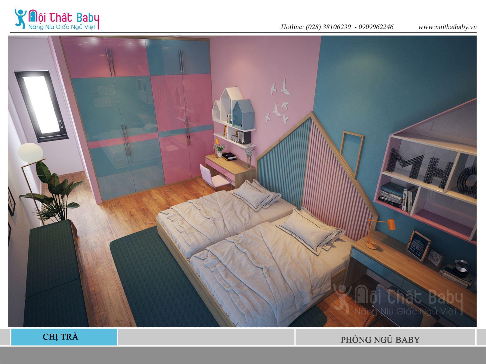 Phòng ngủ trẻ em đẹp và dễ thương
