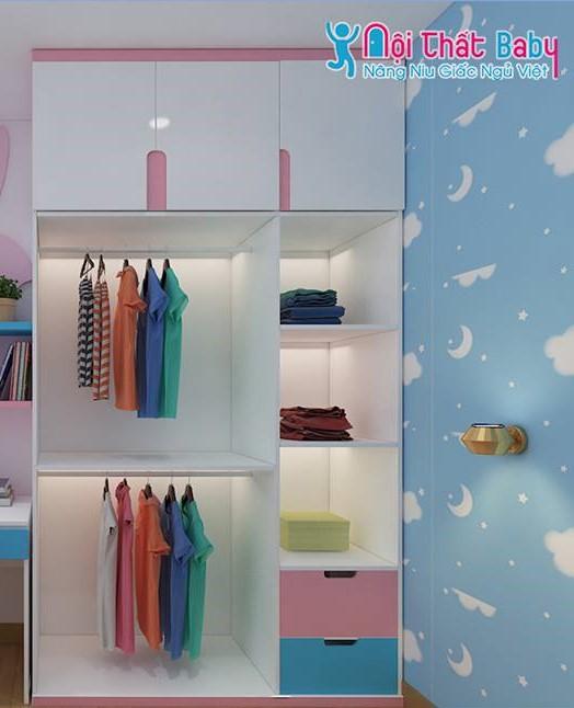 Những mẫu phòng ngủ đầy màu sắc dành cho bé
