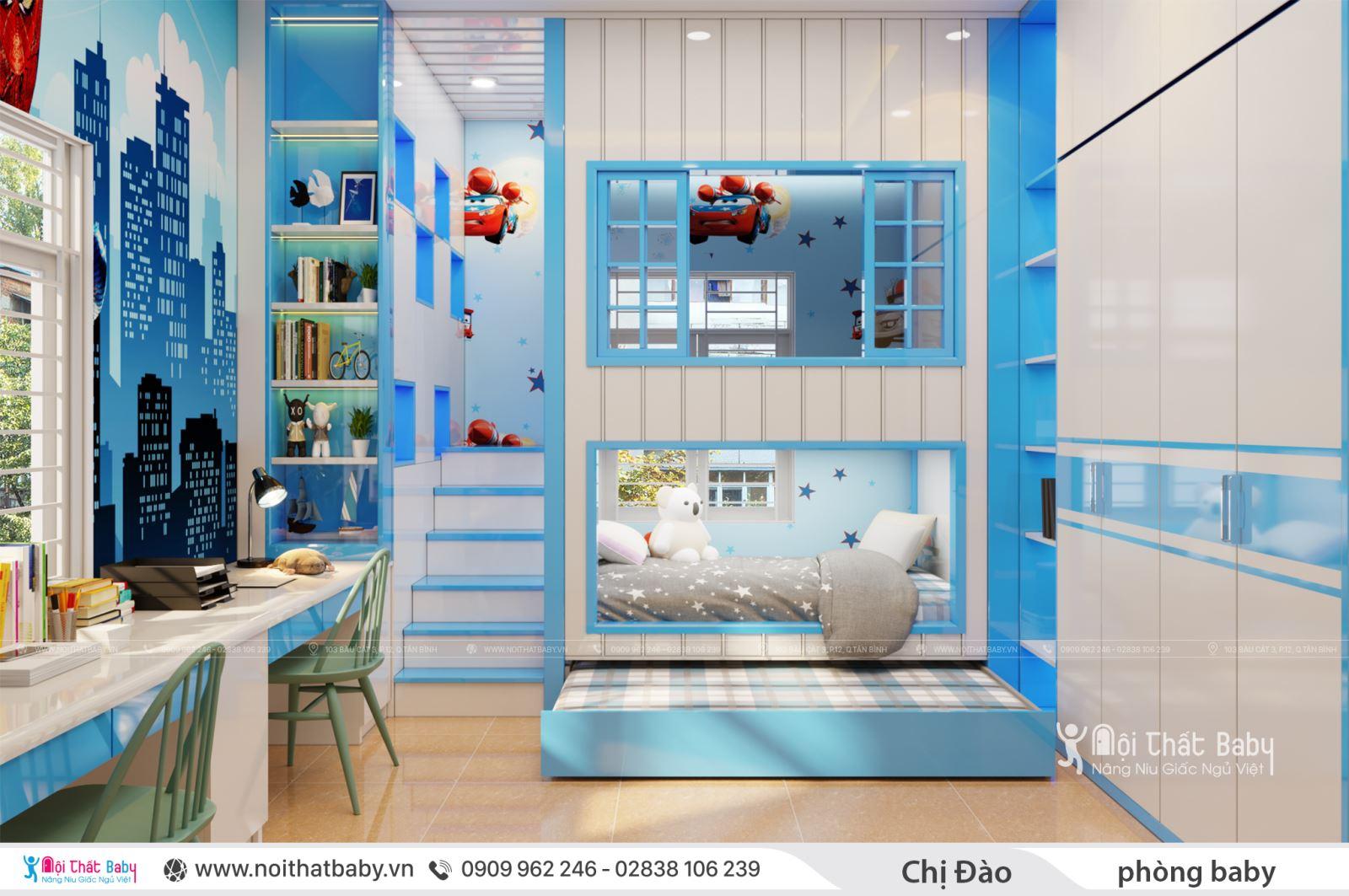 Những mẫu giường tầng mới và đẹp nhất cho ngôi nhà bạn
