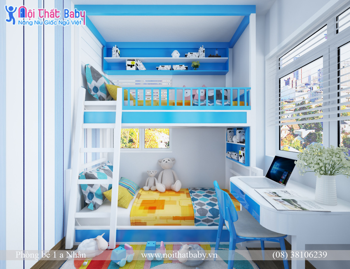 Tầm quan trọng của việc thiết kế nội thất cho phòng ngủ cho trẻ em 1